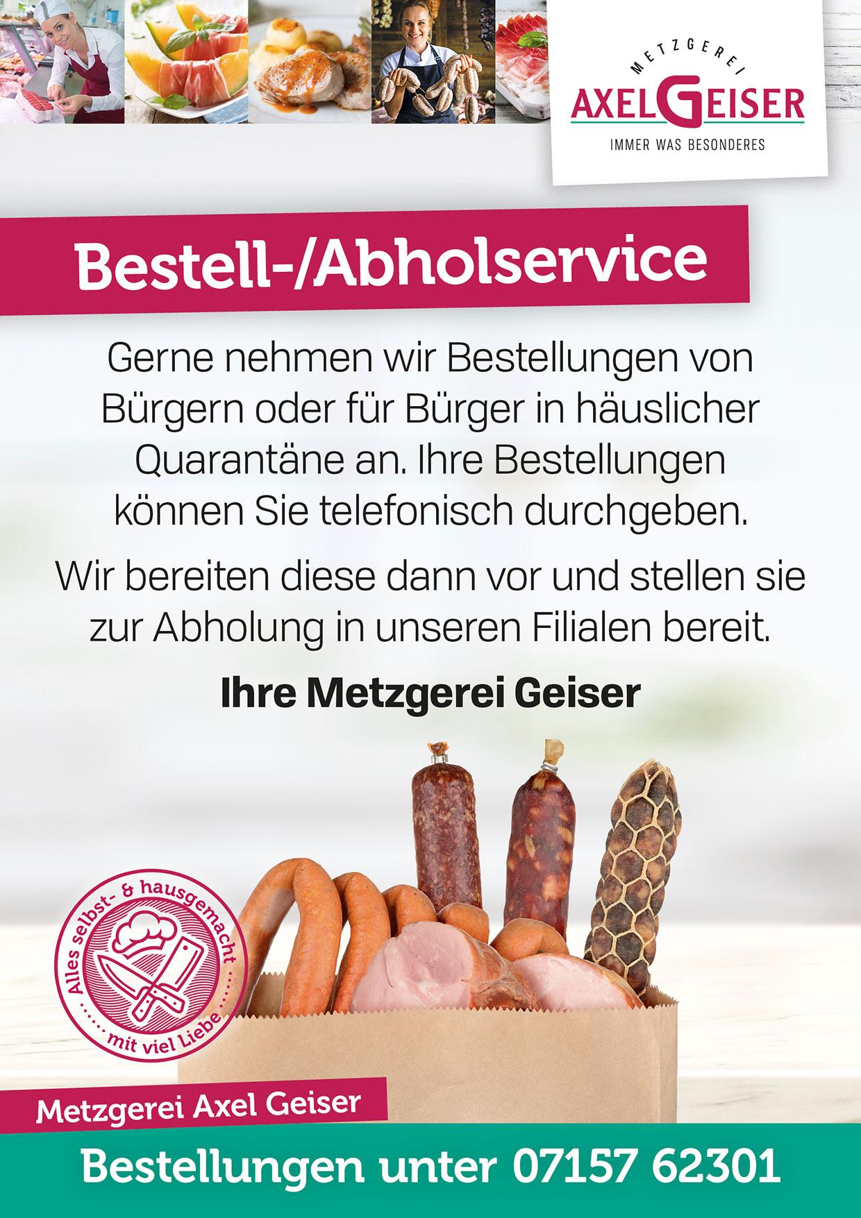 Bestellservice